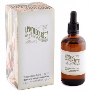 Apothecary87 The Smooth Moving Shave Oil - olejek do golenia 100ml