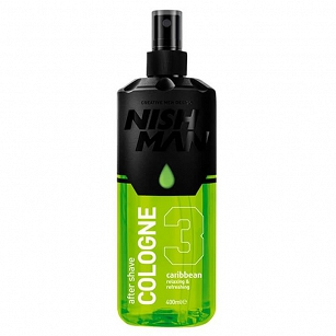 Nishman After Shave Cologne Caribbean Woda po goleniu 400ml
