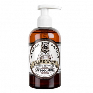 Mr. Bear Woodland Beard Wash - szampon do brody 250ml