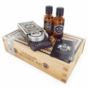 Dear Barber Collection II Groom & Go zestaw olejek, wosk, woda toaletowa