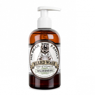 Mr. Bear Wilderness Beard Wash - szampon do brody 250ml